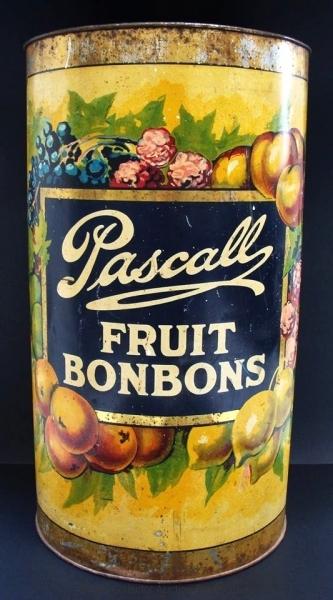 Large Pascalls Fruit Bonbons Tin
