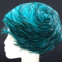 Lovely-circa-1960s-ladies-emerald-green-feather-hat-Sold-for-79-2014