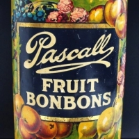 Large Pascalls Fruit Bonbons Tin